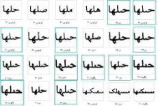 دانلود مقاله بازشناسي كلمات دستنويس فارسي با حروف گسسته